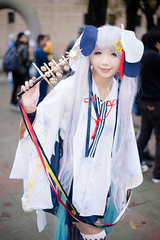 DSC00121 (RamaWangFlickr) Tags: ff31day2 20180211 台灣大學體育館 sony a7 contaxcarlzeissplanar5017taej cosplay coser cosplayer vocaloid 初音未來 雪初音2018 安吉吉