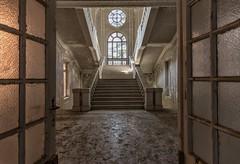 (Kollaps3n) Tags: abandoned decay abbandono italy nikon urbex urbanexploration explore stair architecture