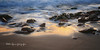 (082/18) Gold (Pablo Arias) Tags: pabloarias photoshop photomatix capturenxd españa mar agua mediterráneo brillo doradoolas playa arena rocas cala tiotximo benidorm