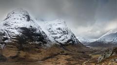 The Three Sisters, Glencoe (jasty78) Tags: glencoe threesisters beinnfhada gearraonach aonachdubh landscape winter snow scotland nikond7200 tokina1116mm