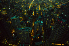 4,696 (Panda1339) Tags: chicago thegreat50mmproject il 50mm usa cinematic dark scifi vault green yellow