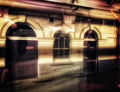 Abstract - Pair of disused doors (dksesh) Tags: seshadri dhanakoti harita hevilambisamvatsara apple iphone sesh seshfamily haritasya hevilambi appleiphone7 appleiphone iphone7