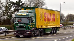 PN10 ZKV (Martin's Online Photography) Tags: scania r440 truck wagon lorry vehicle freight haulage commercial transport a580 leigh lancashire nikon nikond7200
