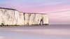 Kingsgate Bay Sunsise (Nathan J Hammonds) Tags: kingsgate bay kent uk england coast sea beach cliffs sunrise morning colour nikon d750 long exposure nd filter 10stop pastel chalk