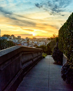 Russian Hill Sunsets