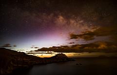 DF4A2486 (oanabadiu) Tags: milky way milkyway night astrophotography madeira travel clouds sky cliff ocean stars