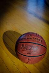 Basketball at the NCAA Hall of Champions (Gregory J. Burke) Tags: x100t fuji shadow basketball ncaa museum
