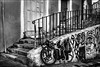Moins fonctionnel / Less functional (vedebe) Tags: velo rue street urbain urban city ville marseille noiretblanc netb nb bw monochrome escaliers