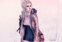 ◈№.205 - lost in your world (αlιcα r. vαɴ нell) Tags: fashionnatic chapterfour chapter four catwa maitreya dummy wooden winter girl blond alone arte ik lepoppycock