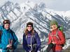 Hiking friends (David R. Crowe) Tags: landscape luz mountain nature outdooractivities people scrambling kananaskis alberta canada