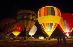 Hot-Air-Balloon Glow In I (JasonCameron) Tags: bluff international balloon festival glowin glow lantern light night fire hot air utah stars