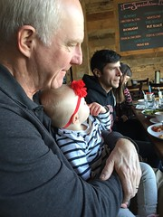 """Grandpa Miller Holds Dani • <a style=""""font-size:0.8em;"""" href=""""http://www.flickr.com/photos/109120354@N07/39695638702/"""" target=""""_blank"""">View on Flickr</a>"""