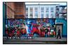 STREET ART by DAN KITCHENER (StockCarPete) Tags: dank streetart londonstreetart urbanart tokyoghosts neon london uk geisha spraycanart aerosolart fireescape pavement wallart dankitchener