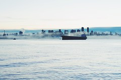 Weekend at Lonsdale market in North Van (sparkwang_0108) Tags: a7ii mirrorless sonya7 sunset northvancouver city foggy downtown vancouver