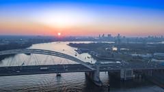 DJI_0230-HDR Bkl (keesoosterwijk) Tags: mavic mavicpro drone dronephotography hdr hdrphotography rotterdam roffa 010 brienenoord brienenoordbrug mavicdrone maas sunset sky droneshot