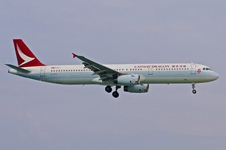 HKT/VTSP: CathayDragon Airbus A321-200 B-HTF