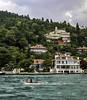 The Bosphorus Asian shore (Tony Tomlin) Tags: bosphorus istanbul turkey sea ocean straight boat