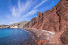 The red beach in Santorini (Vagelis Pikoulas) Tags: red beach winter january greece 2018 thira santorini island cyclades green greek canon 6d landscape sea seascape view rocks rock blue sky clouds