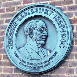 358 George Lansbury (1859-1940)- Green Plaque