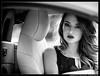 Renata (Facciamo2Scatti) Tags: facciamo2scatti alessiobrinati olympus panasonic italia micro43 modella model woman girl donna beauty beautiful sensual car blackandwhite biancoenero zuiko look occhi sguardo