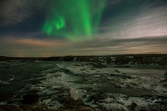 Urriðafoss_Aurora_20180303_DSC3460 (Jokull) Tags: auroraborealis northernlights iceland europe winter nightshot green darkness nighttime landscapephotographyiceland landscapephotography nature naturephotography water sky mountain rock river waterfall
