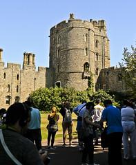 A0046WINDc (preacher43) Tags: windsor berkshire england castle sky grass building architecture people memorial gardens king edward iii tower