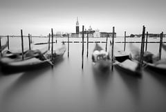 Venice II (annemcgr) Tags: venice gondolas lagoon water sea le longexposure fineartphotography annemcgrath