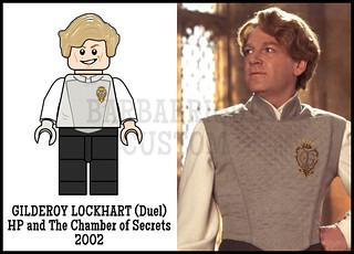 Gilderoy Lockhart - Custom Minifig
