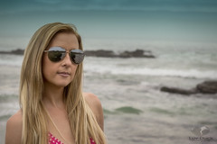 Dream Day in Carmel (Luv Duck - Thanks for 13M Views!) Tags: jordan blonde carmelbythesea beach beachgirl californiagirls californiacoast california northerncalifornia sunglasses polkadots bikini modeling