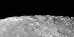 20180129 19-35 Mountains of the Moon (Roger Hutchinson) Tags: moon space london astronomy astrophotography craters celestronedgehd11 powermate televue asi174mm