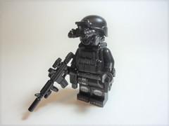 "Nightstalker: FF Acquisition Unit (Nick ""Nightstalker"") Tags: afol brickwarriors saberscorpion brickforge lego brickarms"