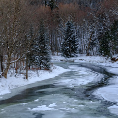 Ammonoosuc River, New Hampshire (jtr27) Tags: dscf7306xl jtr27 fuji fujifilm fujinon xf 50mm f2 f20 rwr wr ammonoosuc river newhampshire nh ice winter snow