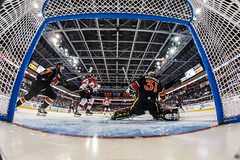 """Kansas City Mavericks vs. Cincinnati Cyclones, February 3, 2018, Silverstein Eye Centers Arena, Independence, Missouri.  Photo: © John Howe / Howe Creative Photography, all rights reserved 2018. • <a style=""""font-size:0.8em;"""" href=""""http://www.flickr.com/photos/134016632@N02/40119452491/"""" target=""""_blank"""">View on Flickr</a>"""