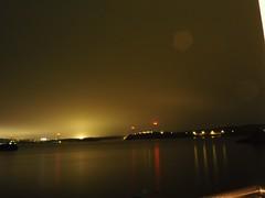 Bømlo by night (nicokv95) Tags: olympus norway sea bridgelight norwegiancoast bømlo night