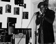 Erroll Linton (The_Kevster) Tags: musician london brixton harp harmonica southlondon handinhand errollinton esethevooduupeople jamsession monochrome sw2 bw blackandwhite nikon dslr nikond3300 pub venue gig concert man portrait person vox amplifier