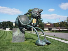 Crying Giant (procrast8) Tags: kansas city mo missouri kemper museum contemporary art crying giant tom otterness sculpture