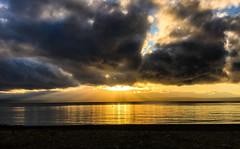 Mutiny Bay Sunset (ScottElliottSmithson) Tags: dtwpuck scottsmithson scottelliottsmithson pacificnorthwest nature landscape iphone