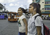 Caught Out (Beegee49) Tags: street filipina walking crossing smiling bacolod city philippines
