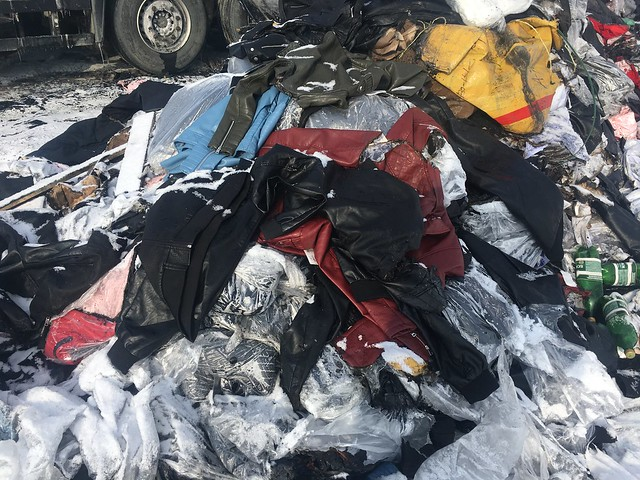ВСызрани зажегся фургон свещами изКазахстана