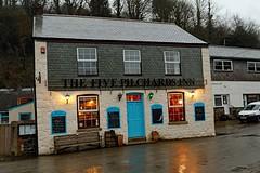 Porthallow, Five Pilchards Inn (Dayoff171) Tags: cornwall boozers unitedkingdom england europe pubs publichouses gbg gbg2018 kernow greatbritain tr126pp village