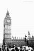 Elizabeth Tower. (natureflower) Tags: bigben elizabeth tower london england bw