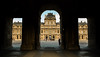 Louvre (I) (damar47) Tags: pentax pentaxart pentaxian pentaxk30 porch portico louvre parigi paris urban shadows deepshadows dark sunnyday sunny francia french france 169