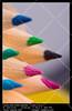 Colour pencils (__Viledevil__) Tags: art artist artistic background blue closeup color colored colour design drawing green orange pen pencil pencils school tools white wood write sanfernando cádiz españa
