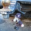 hitch buddy (muffett68 ☺ heidi ☺) Tags: hitch buddy doll salty saltcovered