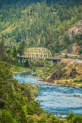 Heading South (Thomas Hawk) Tags: america grantspass hellgatebridge oregon rogueriver southernoregon usa unitedstates unitedstatesofamerica bridge river us fav10 fav25