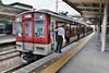 Kintetsu 8917, Kintetsu-Tambabashi (Kyoto Line) (Howard_Pulling) Tags: japan rail railway zug bahn train trains trainsinjapan japanese howardpulling photo picture gare