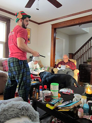 Christmas morning (pr0digie) Tags: rochester christmas family mom dad nate presents