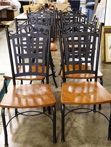 Iron Base Chairs ($190.40)