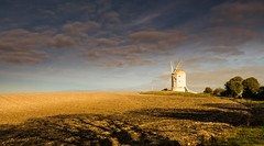 Ashcombe Windmill, Kingston near Lewes - Sussex (E_W_Photo) Tags: windmill ashcombe kingston lewes sussex field sunny shadows clouds uk canon 80d sigma 1750mm