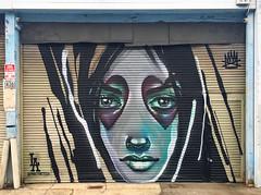 Gothic In Training by Max Thirteen (wiredforlego) Tags: graffiti mural streetart urbanart aerosolart publicart artsdistrict losangeles california lax maxthirteen maxtoropov